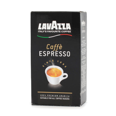 Lavazza Caffe Espresso koffie 250 gram gemalen koffie