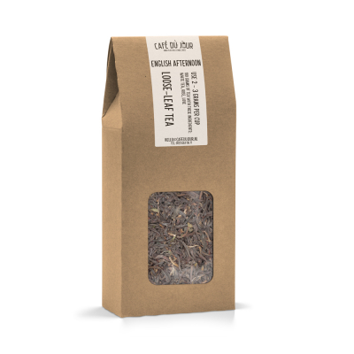 English Afternoon - zwarte thee 100 gram - Café du Jour losse thee