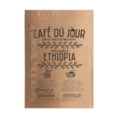 Café du Jour Single Serve Drip Coffee - 100% arabica ETHIOPIA - filterkoffie voor onderweg!