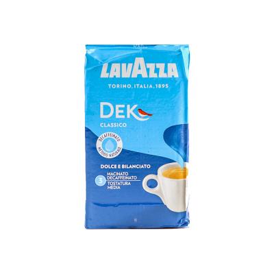 Lavazza DEK Classico Cafeïnevrije gemalen koffie 250 gram