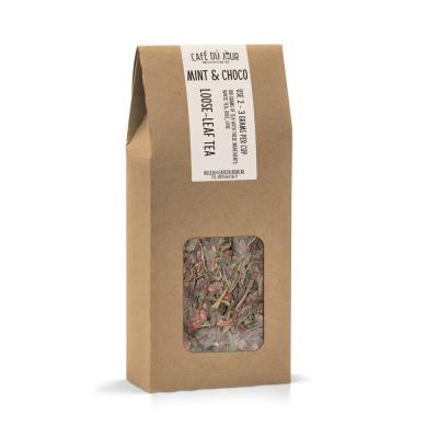 Mint & Choco - groene thee 100 gram - Café du Jour losse thee