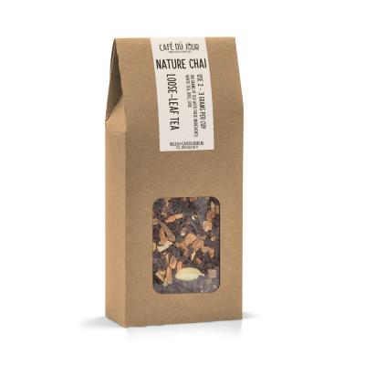 Nature Chai - zwarte thee 100 gram - Café du Jour losse thee