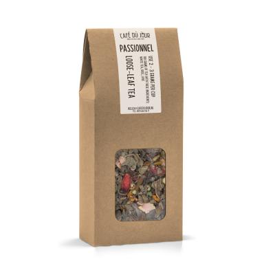 Passionnel - groene thee 100 gram - Café du Jour losse thee