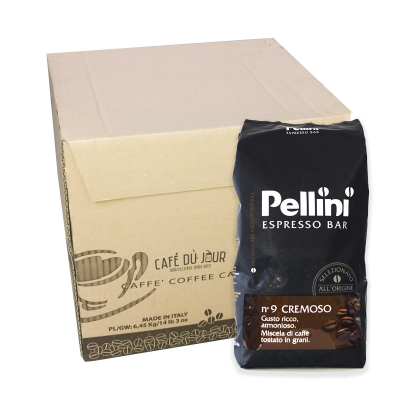 Pellini Espresso Bar No 9 Cremoso 6 kg koffiebonen