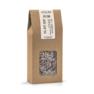 Pu Erh - Pu-Erh thee 100 gram - Café du Jour losse thee