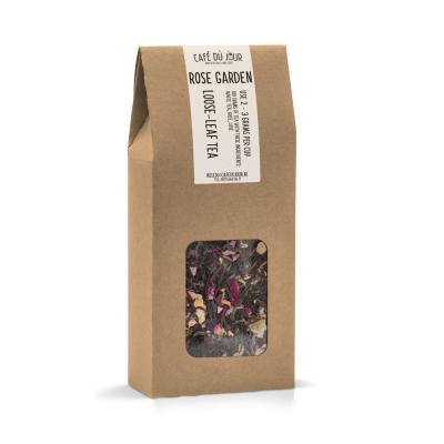Rose Garden - zwarte en groene thee 100 gram - Café du Jour losse thee