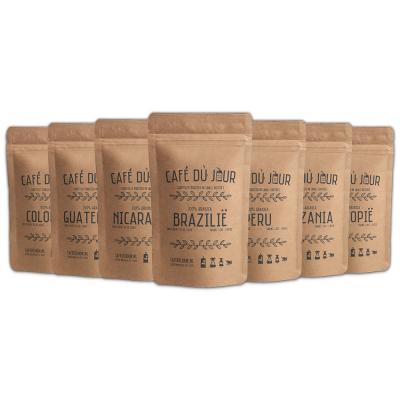 Café du jour single origins verse koffie 7 x 250 gram
