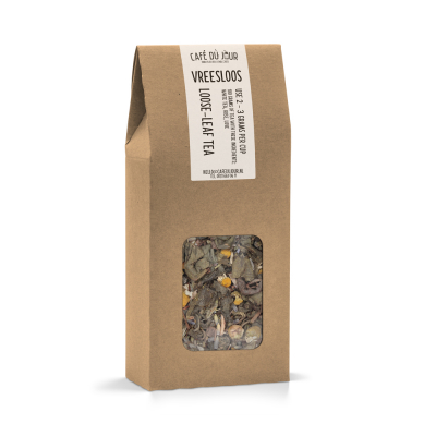 Vreesloos - groene thee 100 gram - Café du Jour losse thee