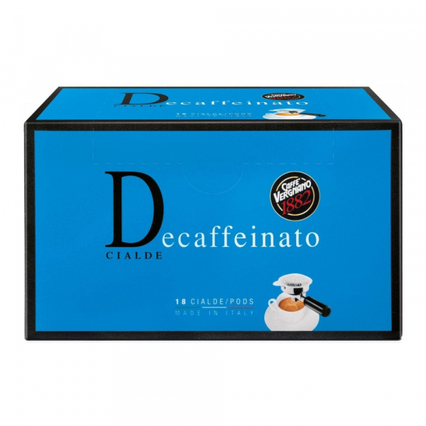 Caffè Vergnano ESE serving pods 'Decaffeinato' 18 stuks
