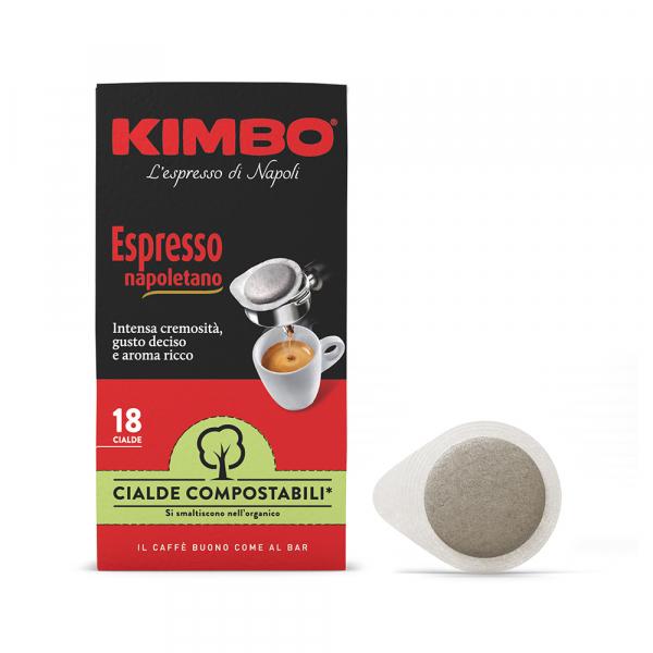 Kimbo ESE serving pods 'Espresso Napoletano' 18 stuks