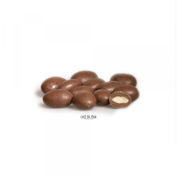 Amandelen in melkchocolade 250 gram
