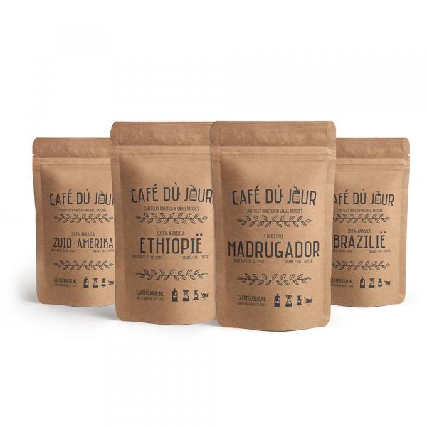 Café du jour bestsellers verse koffie 4 x 1 kilo