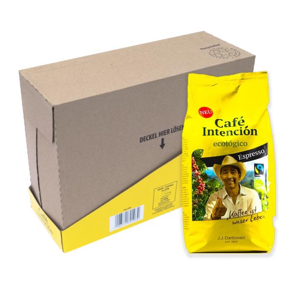 Café Intención Ecológico Espresso 4 kg koffiebonen voordeeldoos colli verpakkingseenheid