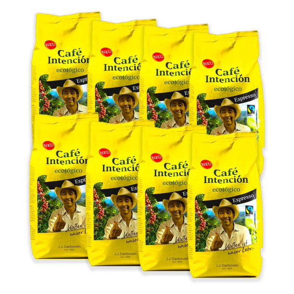 Café Intención Ecológico Espresso 8 kg koffiebonen