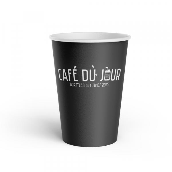 Café du Jour koffiebeker karton
