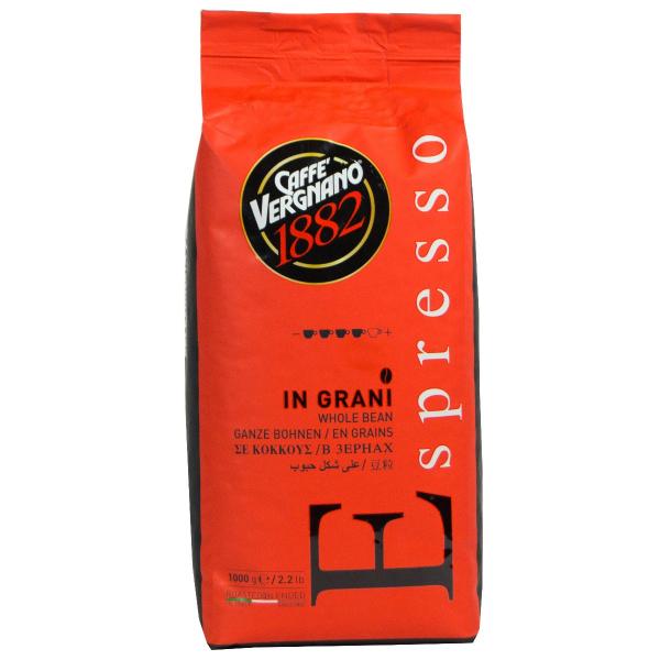 Caffè Vergnano 1882 Espresso Koffiebonen 1 kilo