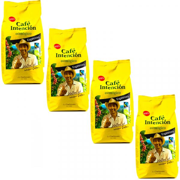 Café Intención Ecológico Espresso 4 kg koffiebonen voordeeldoos