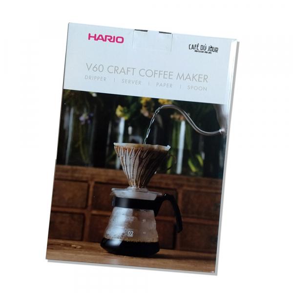 Hario V60 Craft Coffee Maker Kit - Hario V60 Complete Set