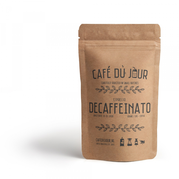 Café du Jour Espresso Decaffeinato