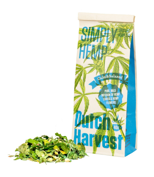 Simply Hemp - Pure hennepthee 40 gram - Dutch Harvest losse thee