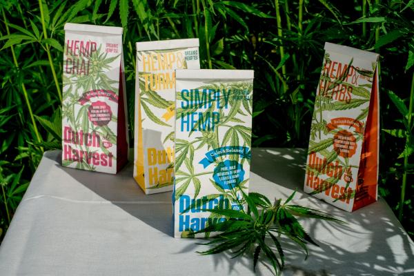 Hemp & Herbs - Hennep & Kruidenmix thee 40 gram - Biologisch - Dutch Harvest losse thee