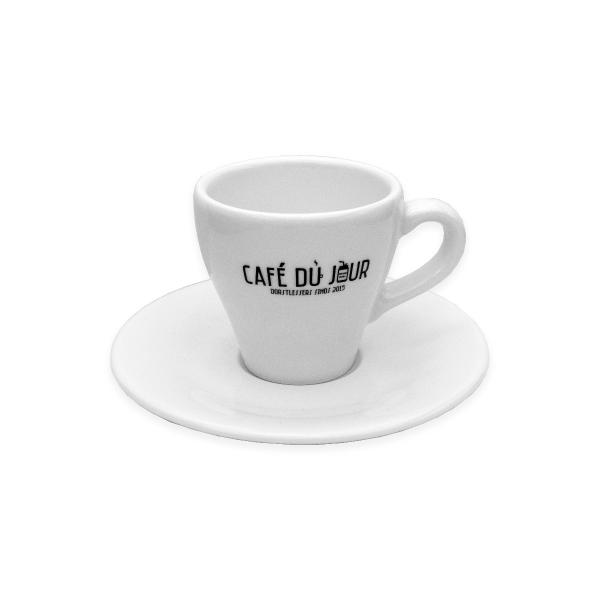 Café du Jour espresso kop en schotel