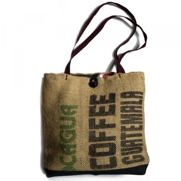 Tas gemaakt van Jute koffiezakken 'Guatemala'