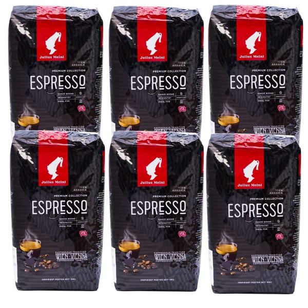 Julius Meinl Espresso Premium Collection  6 pakken