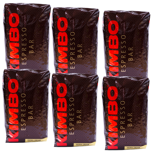 Kimbo Espresso Bar Extra Cream 6 pakken