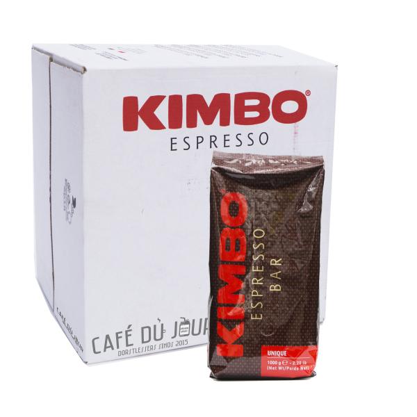 Kimbo Espresso Bar Unique Koffiebonen 6 x 1 kilo
