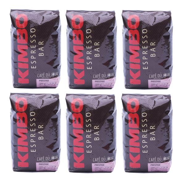 Kimbo Prestige Koffiebonen 6 pakken