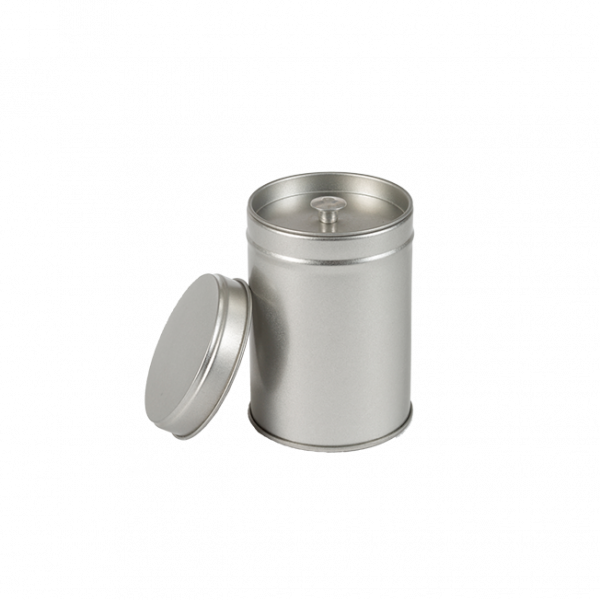 Theeblikje 61 x 88 mm voor ongeveer 40 tot 50 gram thee