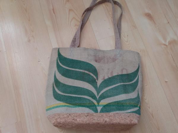 Jute tas hand gemaakt (verschillende varianten)
