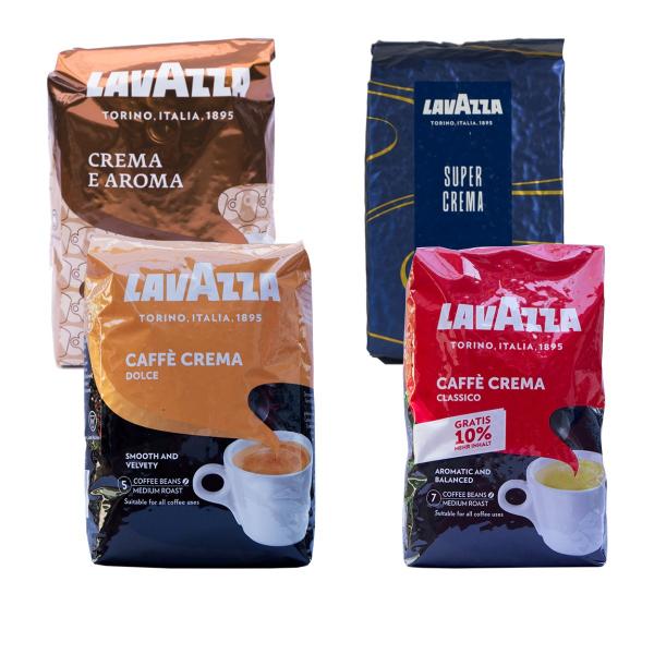 Lavazza Crema Proefpakket 4 x 1 kilo