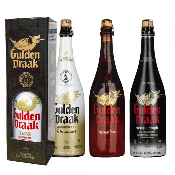 Gulden Draak Groot 4 x 75cl Geschenkpakket