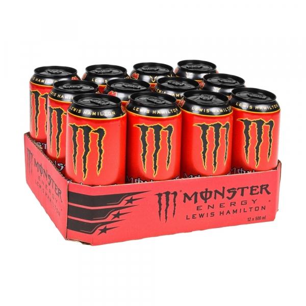 Monster Lewis Hamilton 500 ml. / tray 12 blikken