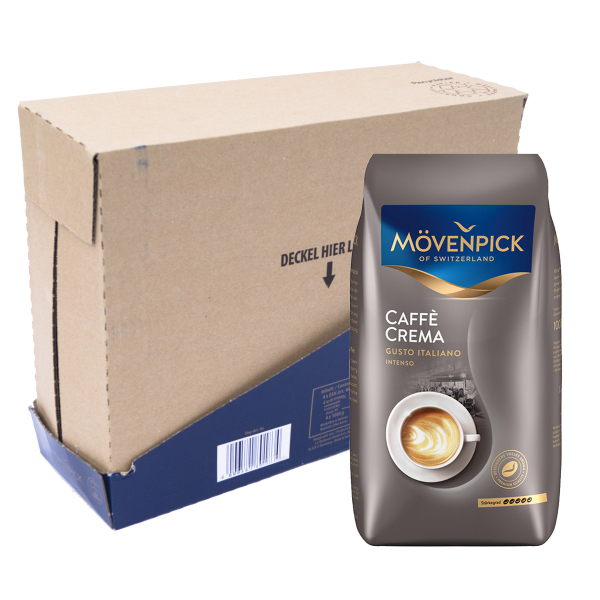 Mövenpick Caffe Crema Gusto Italiano Intenso 4 kg VPE koffiebonen