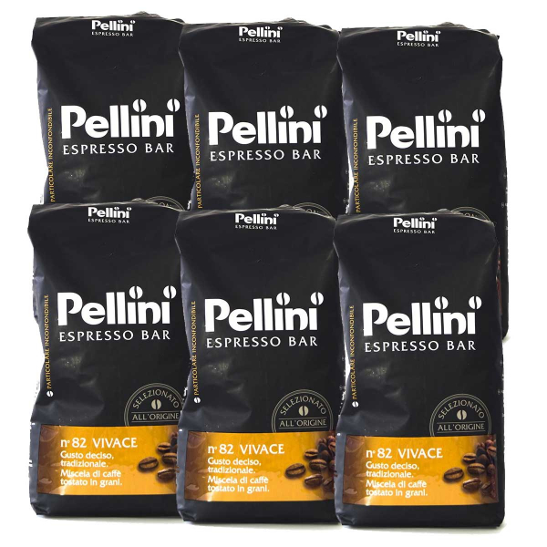 Pellini Espresso Bar No 82 Vivace 6 pakken