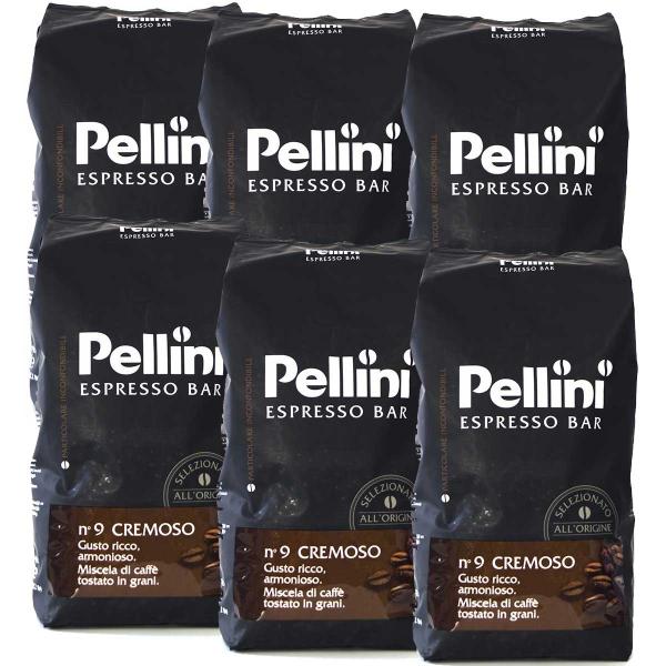 Pellini Espresso Bar No 9 Cremoso 6 pakken
