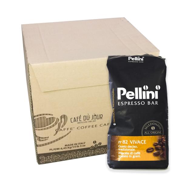 Pellini Espresso Bar No 82 Vivace 6 kg koffiebonen