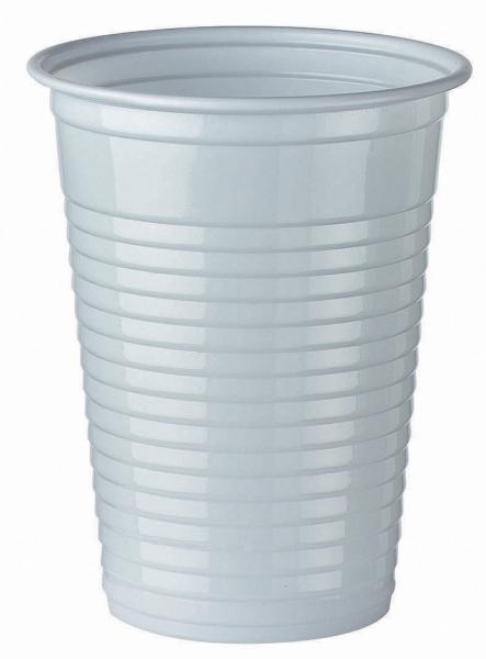 100 stuks plastic water/frisdrank bekers 'budget' (180cc/70,3mm)