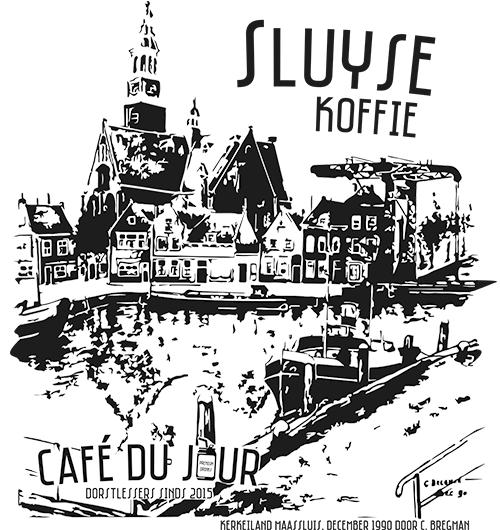 Sluyse koffie - een ode aan Maassluis voorkant