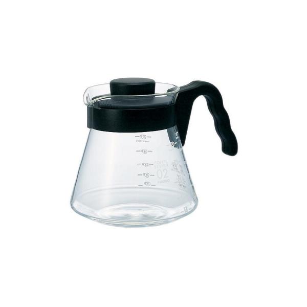 Hario V60 glazen koffieserveerder maat 02 (700ml)