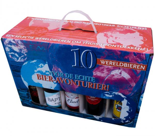 10 wereldbieren geschenkverpakking bierpakket