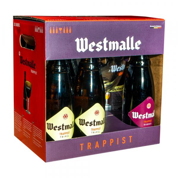 Westmalle Trappist geschenkverpakking met gratis glas