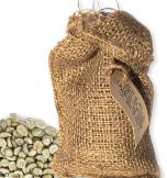 ongebrande groene koffiebonen