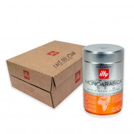 illy - koffiebonen - Voordeeldoos Arabica Selection Ethiopië - 6 x 250 gram
