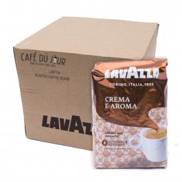 Lavazza Crema e Aroma koffiebonen 6 x 1 kilo