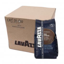Lavazza Gran Espresso koffiebonen 6 x 1 kilo