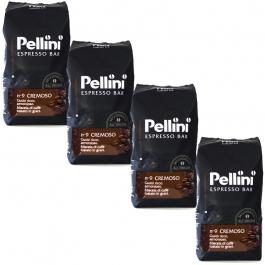Pellini Espresso Bar No 9 Cremoso 4 kg koffiebonen voordeeldoos
